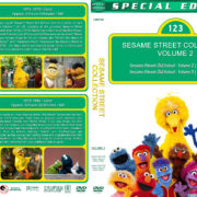 Sesame Street Collection – Volume 2 (1974-1984) R1 Custom DVD Cover