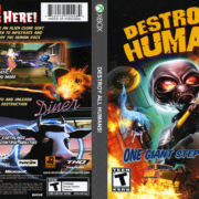 Destroy All Humans! Xbox Compatible with Xbox One (2005) R1 Cover