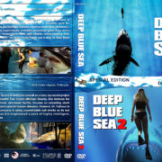 Deep Blue Sea Double Feature (1999-2018) R1 Custom DVD Cover