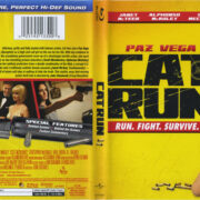 Cat Run (2012) R1 Blu-Ray Cover & Label