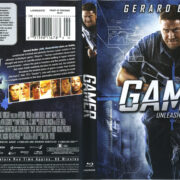 Gamer (2009) R1 Blu-Ray Cover & Label
