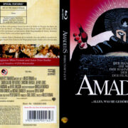 Amadeus (1984) R2 German Blu-Ray Covers