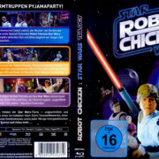 Robot Chicken: Star Wars Trilogy (2012) R2 German Blu-Ray Cover