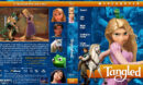 Tangled (2010) R1 Custom Blu-Ray Cover