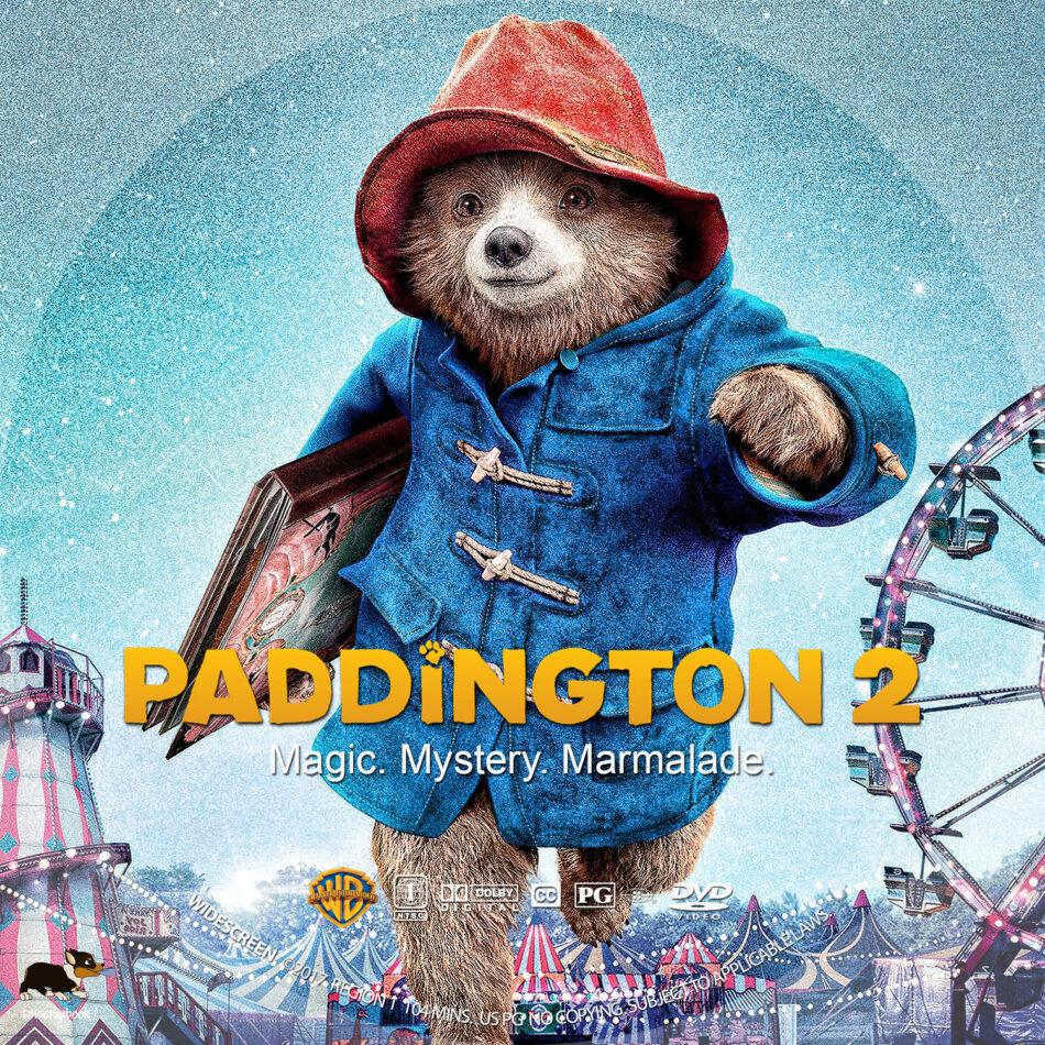 Paddington 2 2017 R1 Custom Dvd Label Dvdcover Com
