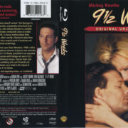 9 1/2 Weeks (1986) R1 Blu-Ray Cover & Label