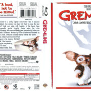 Gremlins (1984) R1 Blu-Ray Cover & Label