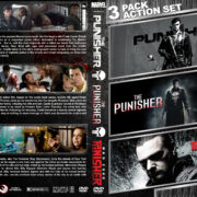 The Punisher Triple Feature (1989-2008) R1 Custom DVD Cover