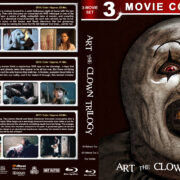 Art the Clown Trilogy (2013-2017) R1 Custom Blu-Ray Cover