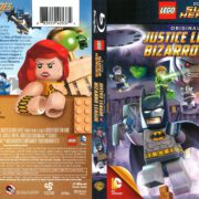 Lego DC Super Heroes: Justice League vs Bizarro League (2015) R1 Blu-Ray Cover
