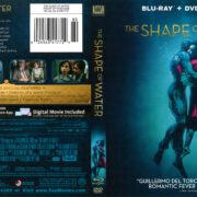 The Shape of Water (2017) R1 Blu-Ray Cover