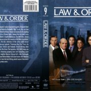 Law & Order Season 9 (2011) R1 DVD Cover