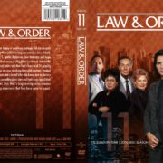 Law & Order Season 11 (2011) R1 DVD Cover