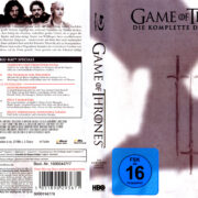 Game of Thrones: Season 3 (2014) R2 German Blu-Ray Cover