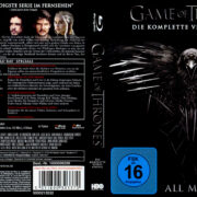 Game of Thrones: Season 4 (2015) R2 German Blu-Ray Cover