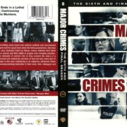 Major Crimes Season 6 (2017) R1 DVD Cover