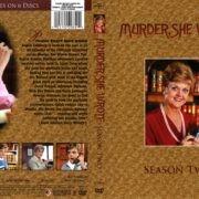 Murder, She Wrote Season 2 (2013) R1 DVD Cover