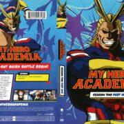 My Hero Academia Season 2 Part 1 (2018) R1 DVD Cover