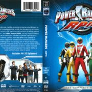 Power Rangers RPM (2018) R1 DVD Cover