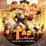 Tad the Lost Explorer and the Secret of King Midas (2017) R1 Custom DVD Label