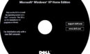 Dell OEM Windows Xp Home Edition CD Label