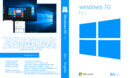 Windows 10 Pro 64 Bit Custom DVD Cover & Label