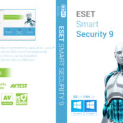 Eset Smart Security 9 Custom DVD Cover