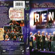 Rent: Filmed Live on Broadway (2008) R1 DVD Cover