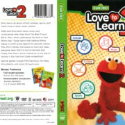 Sesame Street: Love to Learn 2 (2018) R1 DVD Cover