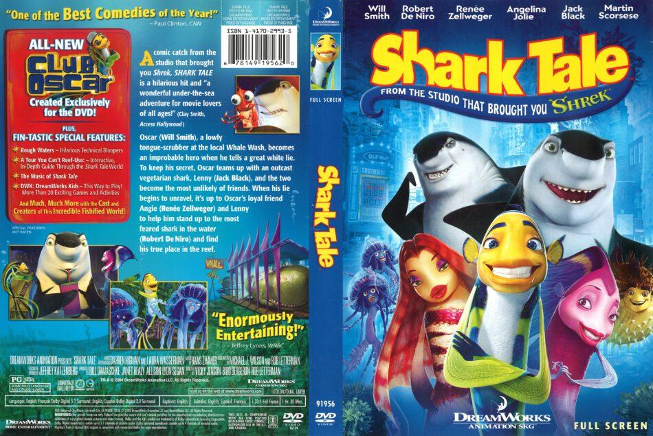 Shark Tale 2004 R1 Dvd Cover Dvdcover Com