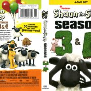 Shaun the Sheep Seasons 3 & 4 (2013) R1 DVD Cover