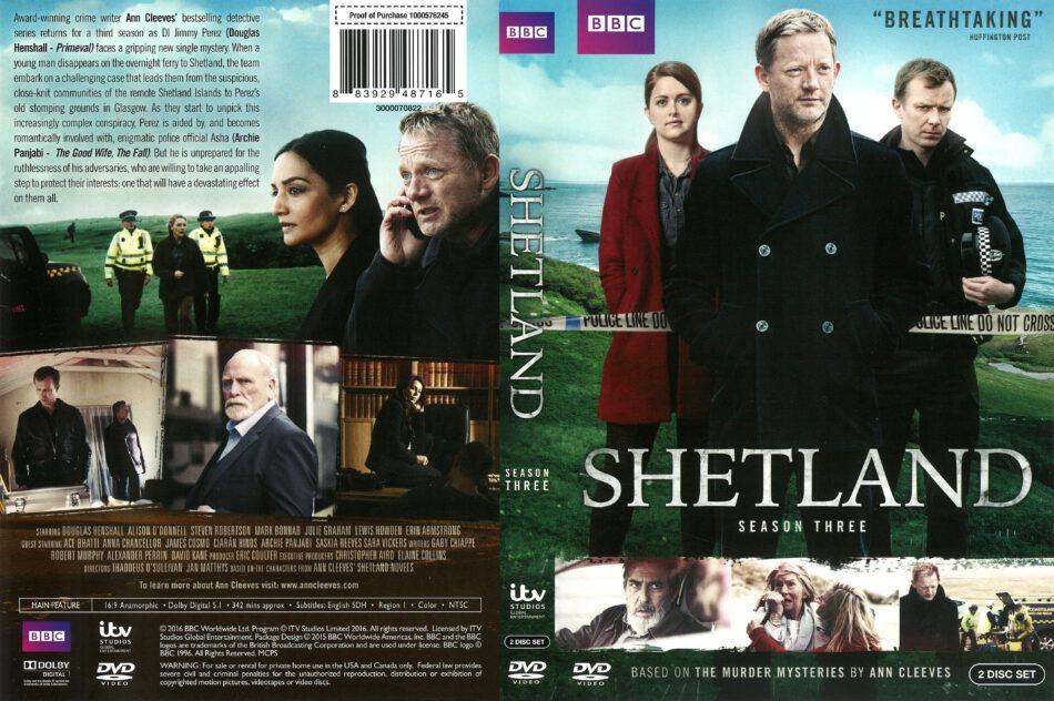 bd67972a593caf Shetland Season 3 (2016) R1 DVD Cover - DVDcover.Com