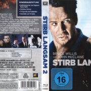 Stirb Langsam 2 (Neuauflage) (2013) R2 German Blu-Ray Covers & Label