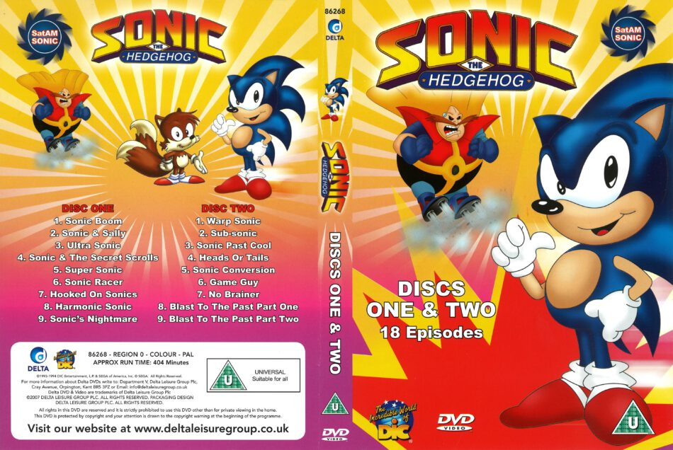 Sonic The Hedgehog 1994 R0 Dvd Covers Dvdcover Com