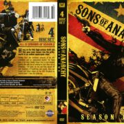 Sons of Anarchy Season 2 (2010) R1 DVD Cover