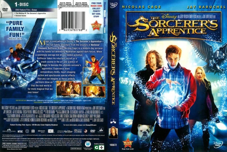 The Sorcerer S Apprentice 2010 R1 Dvd Cover Dvdcover Com