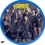 Pitch Perfect 3 (2017) R1 Custom Blu-Ray Label
