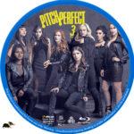 Pitch Perfect 3 (2017) R1 Custom Blu-Ray Label