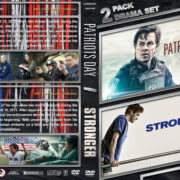Patriots Day / Stronger Double Feature (2016-2019) R1 Custom DVD Cover