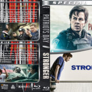Patriots Day / Stronger Double Feature (2016-2019) R1 Custom Blu-Ray Cover