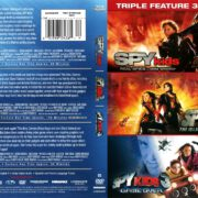 Spy Kids Triple Feature (2001-2003) R1 DVD Cover