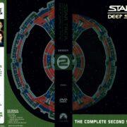 Star Trek Deep Space Nine Season 2 (2003) R1 DVD Cover