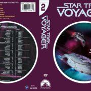 Star Trek Voyager Season 2 (2004) R1 Custom DVD Cover