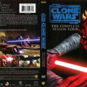 Star Wars: The Clone Wars Season 4 (2012) R1 DVD Cover