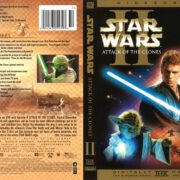 Star Wars Episode II: Attack of the Clones (2002) R1 DVD Cover