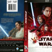 Star Wars The Last Jedi (2017) R1 DVD Cover