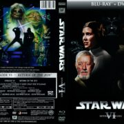 Star Wars Episode VI: Return of the Jedi (1977) R1 Custom DVD Cover