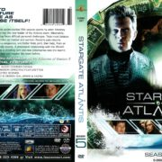 Stargate Atlantis Season 5 (2008) R1 DVD Covers