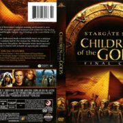 Stargate SG-1: Children of the Gods (1997) R1 DVD Cover