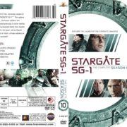 Stargate SG-1 Season 10 (2006) R1 DVD Cover